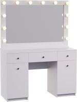 Туалетный столик с зеркалом Мир Мебели SV-61 с подсветкой -
