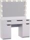 Туалетный столик с зеркалом Мир Мебели SV-63 с подсветкой -