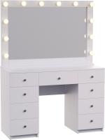 Туалетный столик с зеркалом Мир Мебели SV-64 с подсветкой -