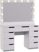 Туалетный столик с зеркалом Мир Мебели SV-66 с подсветкой -