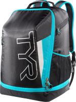 Рюкзак спортивный TYR Apex Backpack/ LTRIBP/093 (черный/синий) -