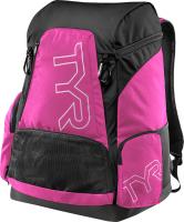 Рюкзак туристический TYR Alliance 45L Backpack / LATBP45/694 (розовый/черный) -