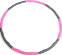 Обруч хула-хуп Sabriasport 95НН (серый/розовый) -