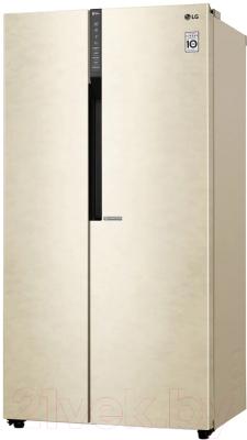 Холодильник с морозильником LG GC-B247JEDV