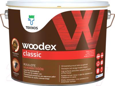 Антисептик для древесины Teknos Woodex Classic B3 (900мл)