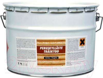 Грунтовка Teknos Peruskyllaste Clear Base для древесины (10л)