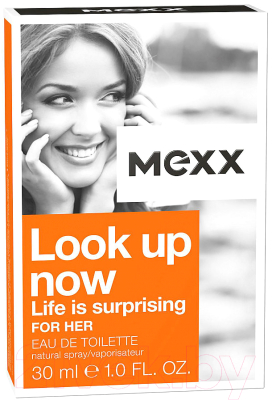 Туалетная вода Mexx Look Up Now Life Is Surprising For Her (30мл)