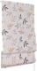 Римская штора Delfa Мини Flora СШД-01М-166/036 (52x160, бежевый/коричневый) -