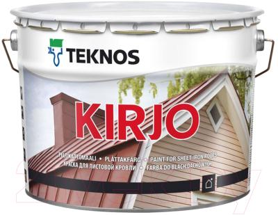 Краска Teknos Kirjo Base 1 (9л, белый)