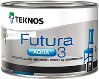 Грунтовка Teknos Futura Aqua 3 Valkoinen (2.7л) -