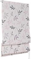 Римская штора Delfa Мини Flora СШД-01М-166/038 (68x160, серый) -