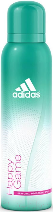 Дезодорант-спрей Adidas, Happy Game (75мл), Испания  - купить со скидкой