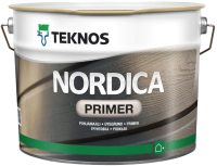 Грунтовка Teknos Nordica Pohjamaali Primer Valk (2.7л, белый) -