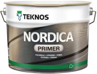 Грунтовка Teknos Nordica Primer Valk (9л, белый) -