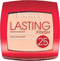 Пудра компактная Rimmel Lasting Finish 25H Powder Foundation 003 - Silky Beige (7г) -