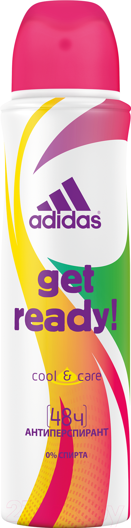 Купить Дезодорант-спрей Adidas, Cool&Care Get Ready (150мл), Португалия