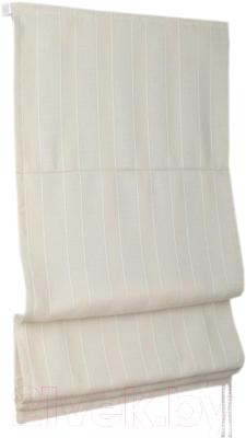 Римская штора Delfa Мини Werona СШД-01М-163/1233 (52x160, экрю)