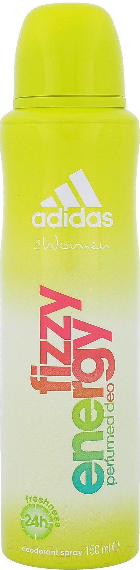 Купить Дезодорант-спрей Adidas, Fizzy Energy (150мл), Испания