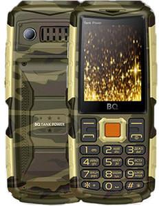 Мобильный телефон BQ Tank Power BQ-2430 (камуфляж/золото)
