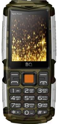 Мобильный телефон BQ Tank Power BQ-2430 (камуфляж/серебристый)