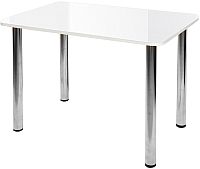 Обеденный стол Алмаз-Люкс СО-Д-01-1 (белый) -