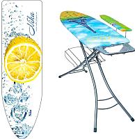 Гладильная доска Ника Стелла Престиж 2 Премиум / СТП2 (капли воды с лимоном) -