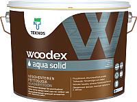 Антисептик для древесины Teknos Woodex Aqua Solid B1 (9л) -