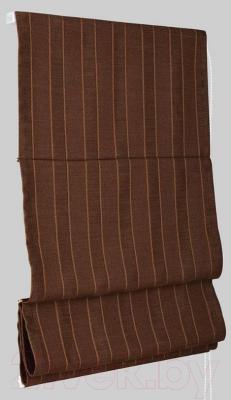 Римская штора Delfa Мини Werona СШД-01М-163/7210 (52x160, шоколад)
