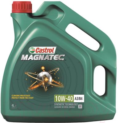 Моторное масло Castrol Magnatec 10W40 A3/B4 / 156EED (4л)