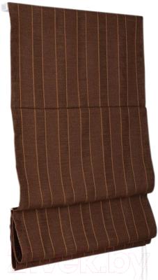 Римская штора Delfa Мини Werona СШД-01М-163/7210 (68x160, шоколад)