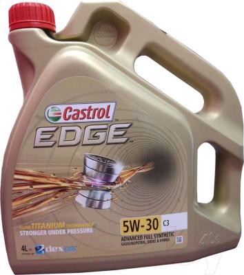 Моторное масло Castrol Edge 5W30 С3 / 15A568 (4л)