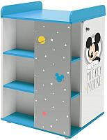 Комод Polini Kids Disney baby 2090 Микки Маус (белый/серый) -