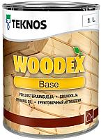 Грунтовка Teknos Woodex Base для древесины (1л) -
