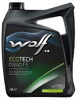 Моторное масло WOLF EcoTech 0W40 FE / 16106/4 (4л) -