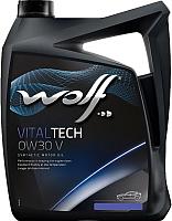 Моторное масло WOLF VitalTech 0W30 V / 22105/5 (5л) -