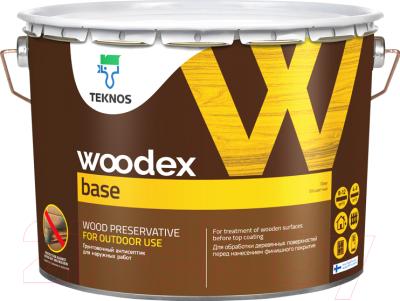 Грунтовка Teknos Woodex Base для древесины (3л)