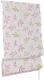 Римская штора Delfa Мини Flora СШД-01М-166/035 (57x160, розовый/салатовый) -