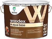 Грунтовка Teknos Woodex Aqua Base для древесины (10л) -
