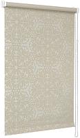 Рулонная штора Delfa Сантайм Металлик Принт СРШ-01 МД 7594 (62x170, светло-бежевый) -