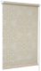 Рулонная штора Delfa Сантайм Металлик Принт СРШ-01 МД 7594 (68x215, светло-бежевый) -
