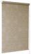 Рулонная штора Delfa Сантайм Металлик Принт СРШ-01 МД 7593 (68x215, темно-бежевый) -