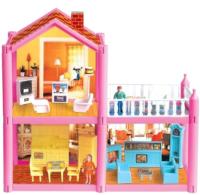 Кукольный домик Крошка Я Двухэтажный с аксессуарами / 442534 -