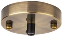 Потолочная база для светильника Navigator 61 734 / NFA-CR01-007 (черненая бронза) -