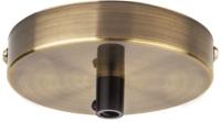 Потолочная база для светильника Navigator 61 738 / NFA-CR02-007 (черненая бронза) -
