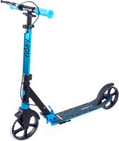 Самокат Ridex Sigma 200мм (черный/голубой) -
