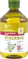 Шампунь для волос Elfa Pharm O'Herbal д/окрашенных волос с экстрактом чабреца (500мл) -