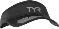 Кепка для триатлона TYR Running Visor / LRUNVIS 088 (черный/серый) -