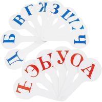 Касса-веер Darvish DV-2766 (гласные и согласные) -
