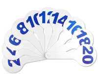 Касса-веер Darvish DV-2769 (цифры) -