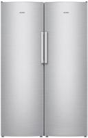 Холодильник с морозильником ATLANT X-1602 + M-7606 N (нержавеющая сталь) -